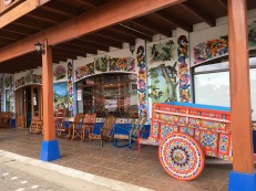 Eloy Alfaro tourist shop and factory entrance